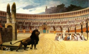 The Christians and the Lions