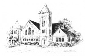 Drawing of Church